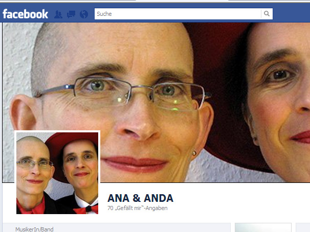 ANA & ANDA Facebook-Screenshot